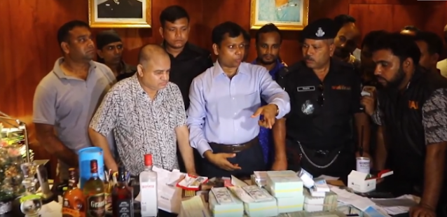 Jubolig Leader GK Shamim Seized 10 Crore and FDR of 200 crore With Seven Bodyguards