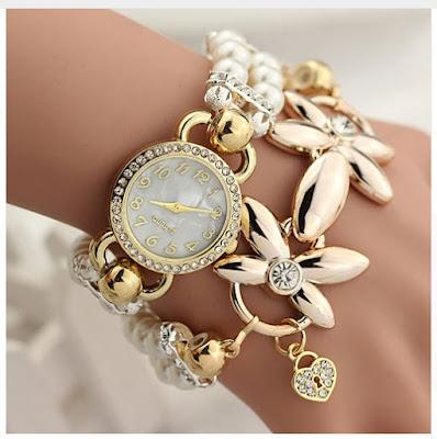 Наручные женские часы браслет Montre Femme Relogios Feminino