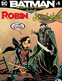 Batman: Prelude To the Wedding: Robin vs. Ra's Al Ghul