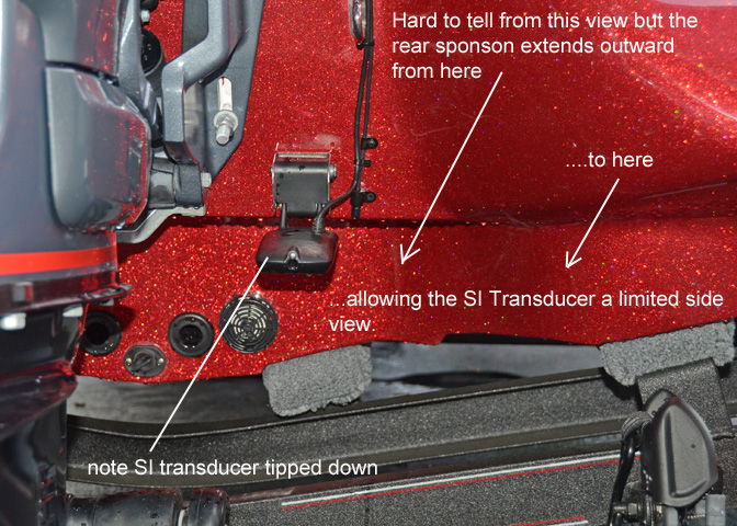 Smallie Fishing Humminbird 798 Si Transducer Install On