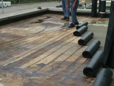 Proses Persiapan Material Waterproofing