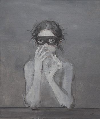 Quand On Sait Pas Mentir On Pense Que Tout Le Monde Dit La Verite by Dongni Hou | images de solitude et tristesse | bel ouvres d'art