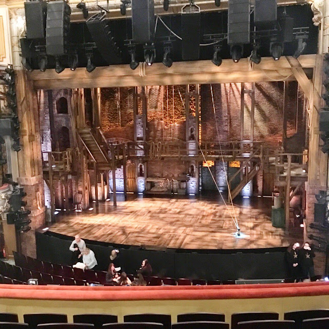 Hamilton stage - west end