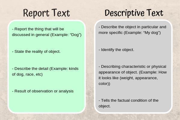 Definisi Report Text, Struktur dan Contoh Soal