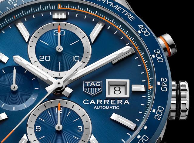 New TAG Heuer Carrera Calibre 16 Chronograph CBM2112. BA0651