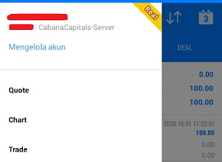 Cabana Capitals $100 Forex No Deposit Bonus - MT5