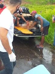 Colisão frontal entre motos deixa duas pessoas feridas na MA-381