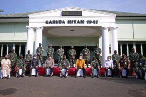 Gubernur Dampingi Kunjungan Pangdam II/Sriwijaya