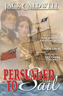 Book cover: Persuaded to Sail by Jack Caldwell