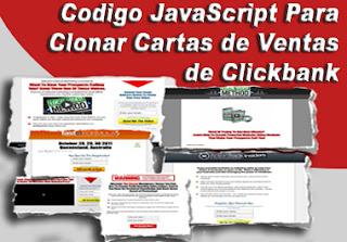 CÓDIGO CLONAR AFILIADO CLICKBANK