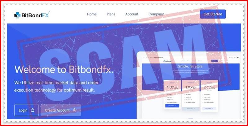 Мошеннический сайт bitbondfx.com – Отзывы, развод, платит или лохотрон? Мошенники