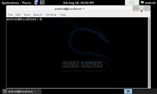 Kali Linux on Android - picateshackz