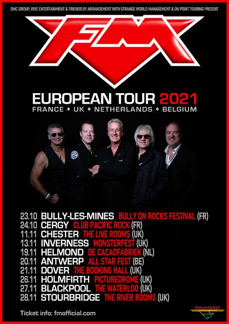 FM tour dates Oct-Nov 2021 poster