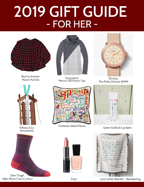 2019 Gift Guide: For Her
