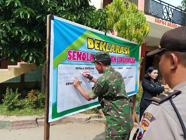 Deklarasi Sekolah Ramah Lingkungan