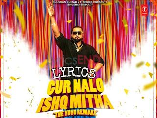 Gur Nalo Ishq Mitha Lyrics Indian Pop [2019]