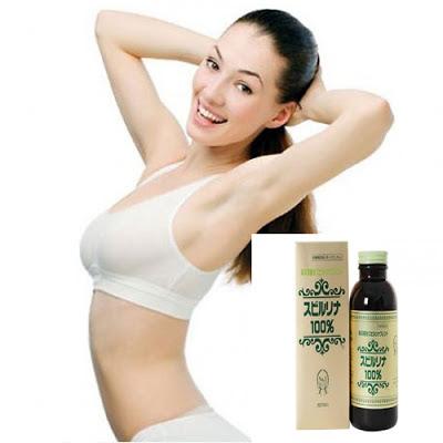 tảo Spirulina giúp phụ nữ trông tươi trẻ hơn