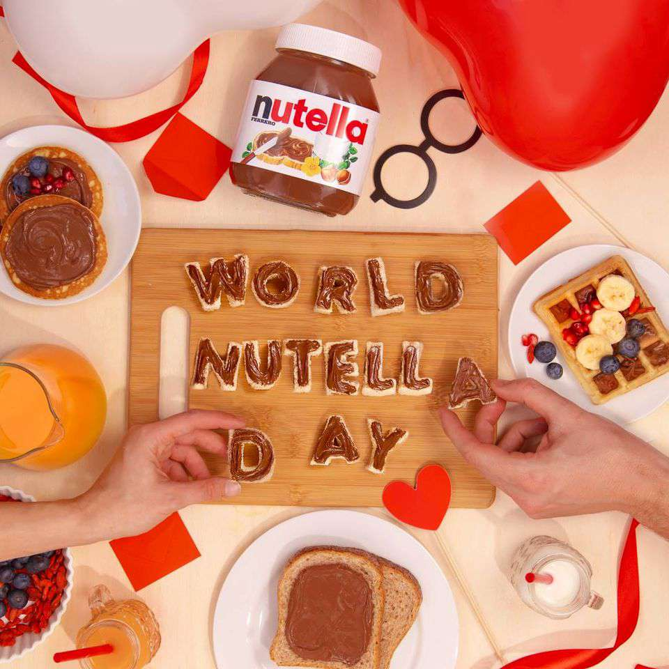 World Nutella Day Wishes Awesome Images, Pictures, Photos, Wallpapers