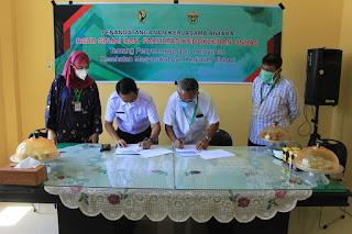 Direktur RSUD Sinjai dan Dekan Fakultas Kedokteran Unhas Lakukan Penandatanganan MOU