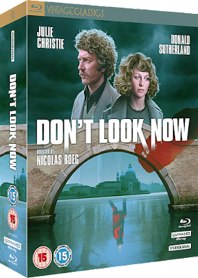 Cover of Studiocanal's Collector's Edition of DON'T LOOK NOW!