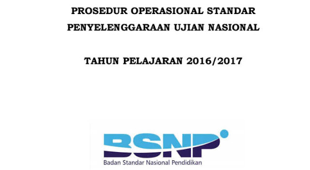 Download POS Ujian Nasional 2017 Final BNSP PDF