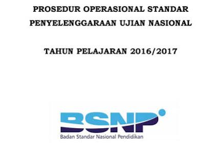 POS UN Tahun 2017 Final PDF Dari BSNP SMP/SMA/SMK