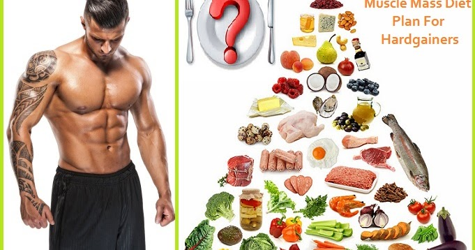 how to build muscle mass diet plan