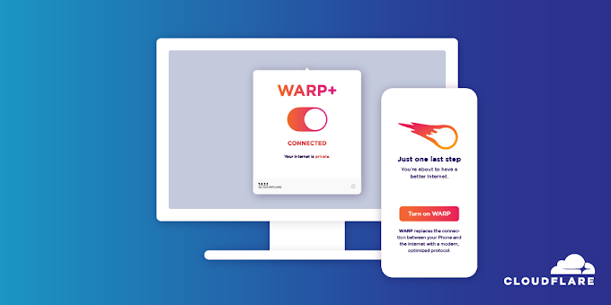 DNS de Cloudflare + VPN Warp/+