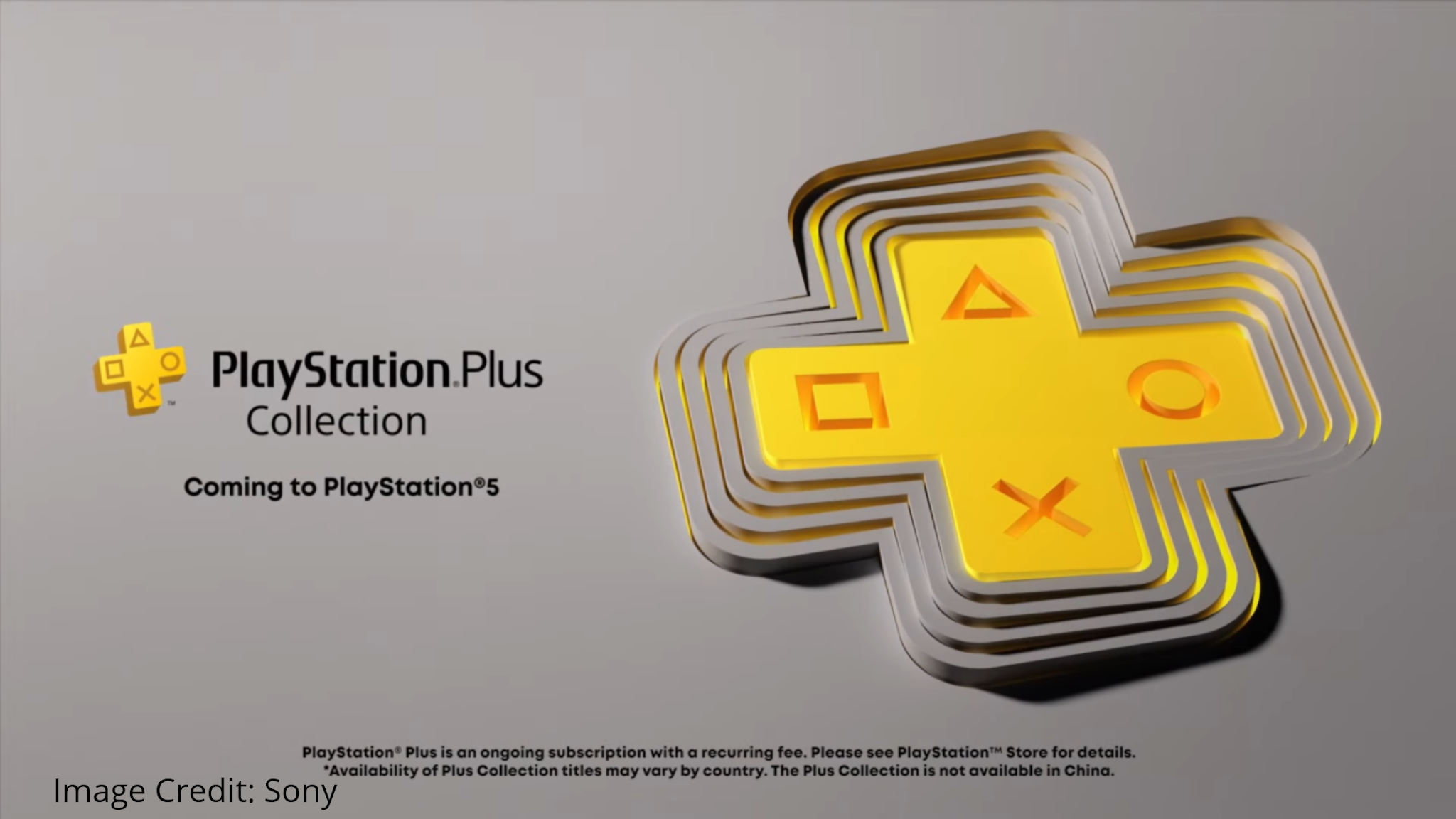 PlayStation 5 Plus subscription