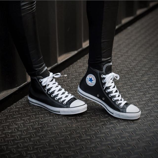 phối giày converse đi học