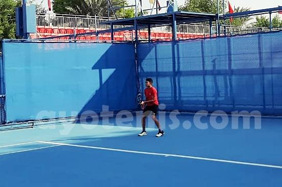ITF Asia 14 & Under Closed Championships 2019: Faried Widya Libas Wakil Taiwan, Ini Kata Coach Febi widhiyanto