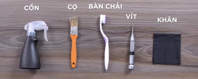 Dụng cụ dùng để vệ sinh VGA
