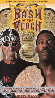 WCW Bash at the Beach - Event poster