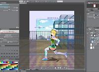 blog.fujiu.jp CLIP STUDIO用クエリちゃん 3Dモデルが新フォーマットに対応しました