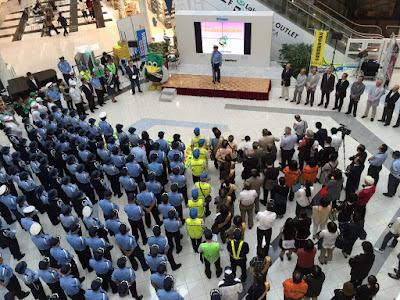 オリンピック銅メダリストの「星 奈津美」選手が「一日越谷警察署長」として秋の全国交通安全運動出発式に参加します!!