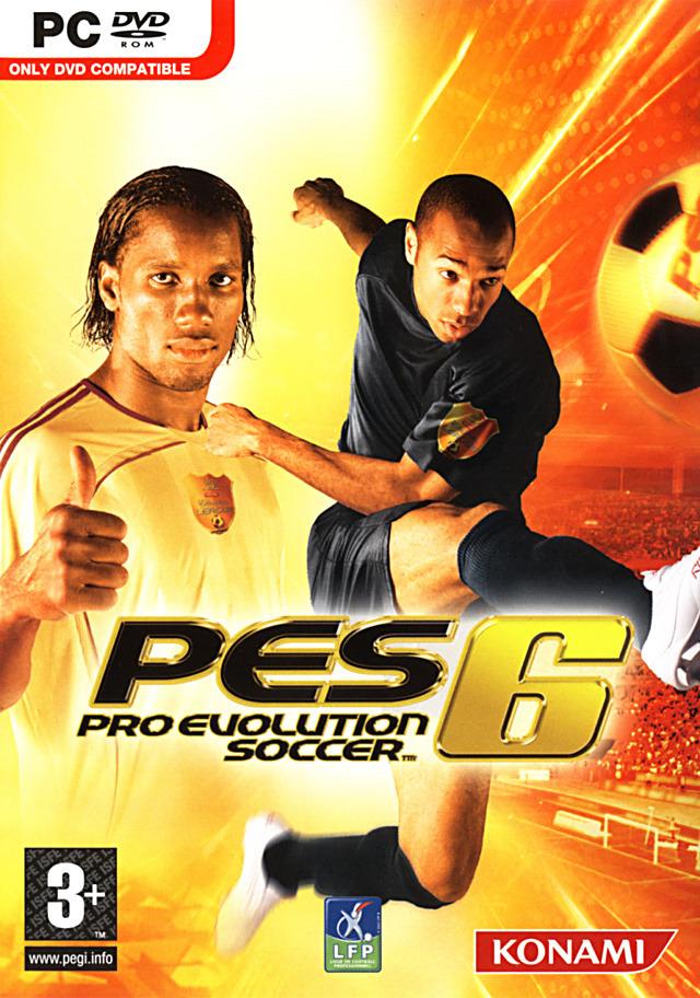 مراجعة لعبة كرة القدم PES 2006
