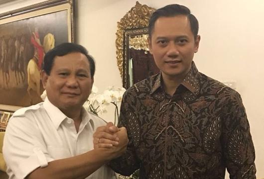 Gerindra Tawarkan Berbagi Kekuasaan Jika Demokrat Dukung Prabowo