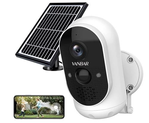 VANBAR V300-1 Solar Powered WiFi Smart Home Camera