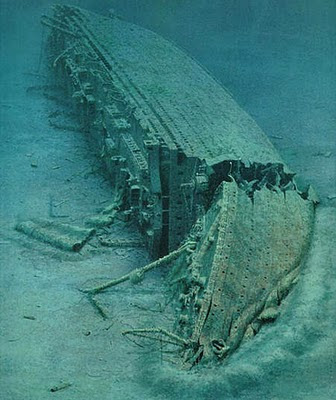 Original Real Titanic Underwater Photos, Real Titanic ...
