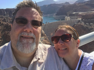 David Brodosi and wife visit the grand canyon