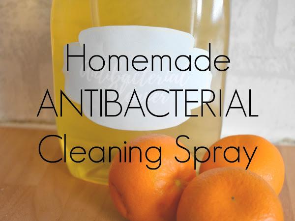 Homemade Antibacterial Cleaning Spray
