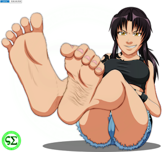 black lagoon hot feet