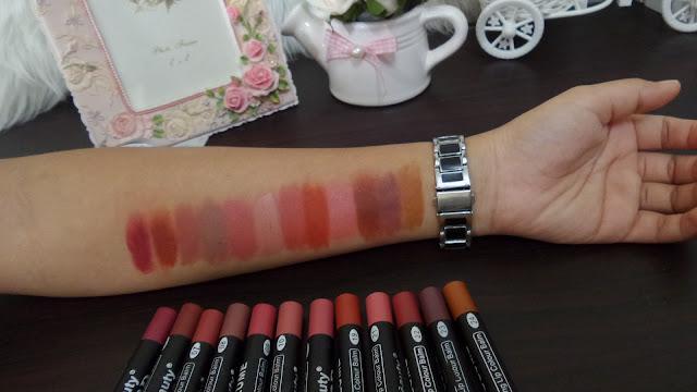 Lipstick KISS BEAUTY BB 3D NUDE SERIES Super MATTE