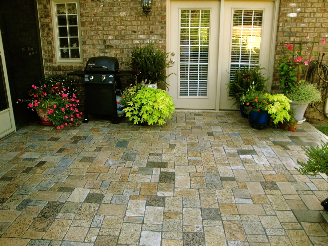 Recycled Patio Materials Pavers