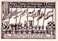 I Torneo Internacional de Ajedrez de Sitges 1934