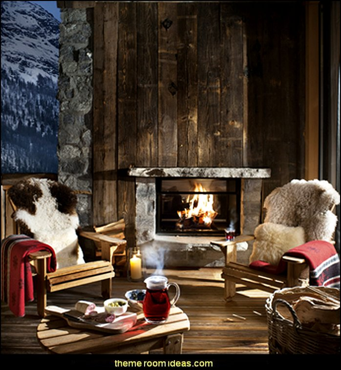 Decorating theme bedrooms - Maries Manor: Ski cabin decorating ...