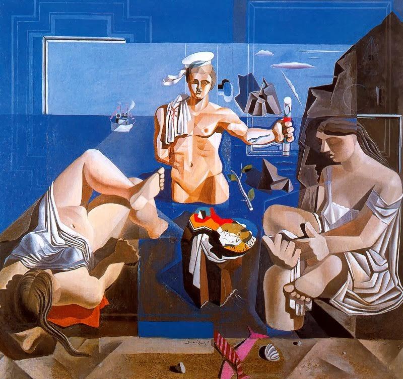 Salvador Dalí el periodo Lorca San Sebastian