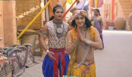 Radha Krishna Serial : 10 jan in Hindi