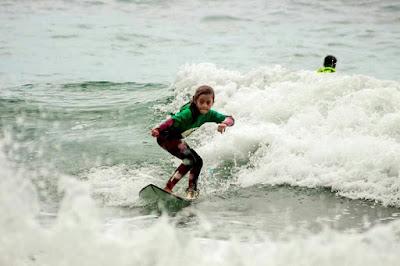 Atletas da Ilha Comprida no Brasileiro de Surf Feminino