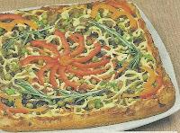 Приготовление пиццы с грибами и овощами. Необходимые ингредиенты и подробное описание выпекания пиццы.